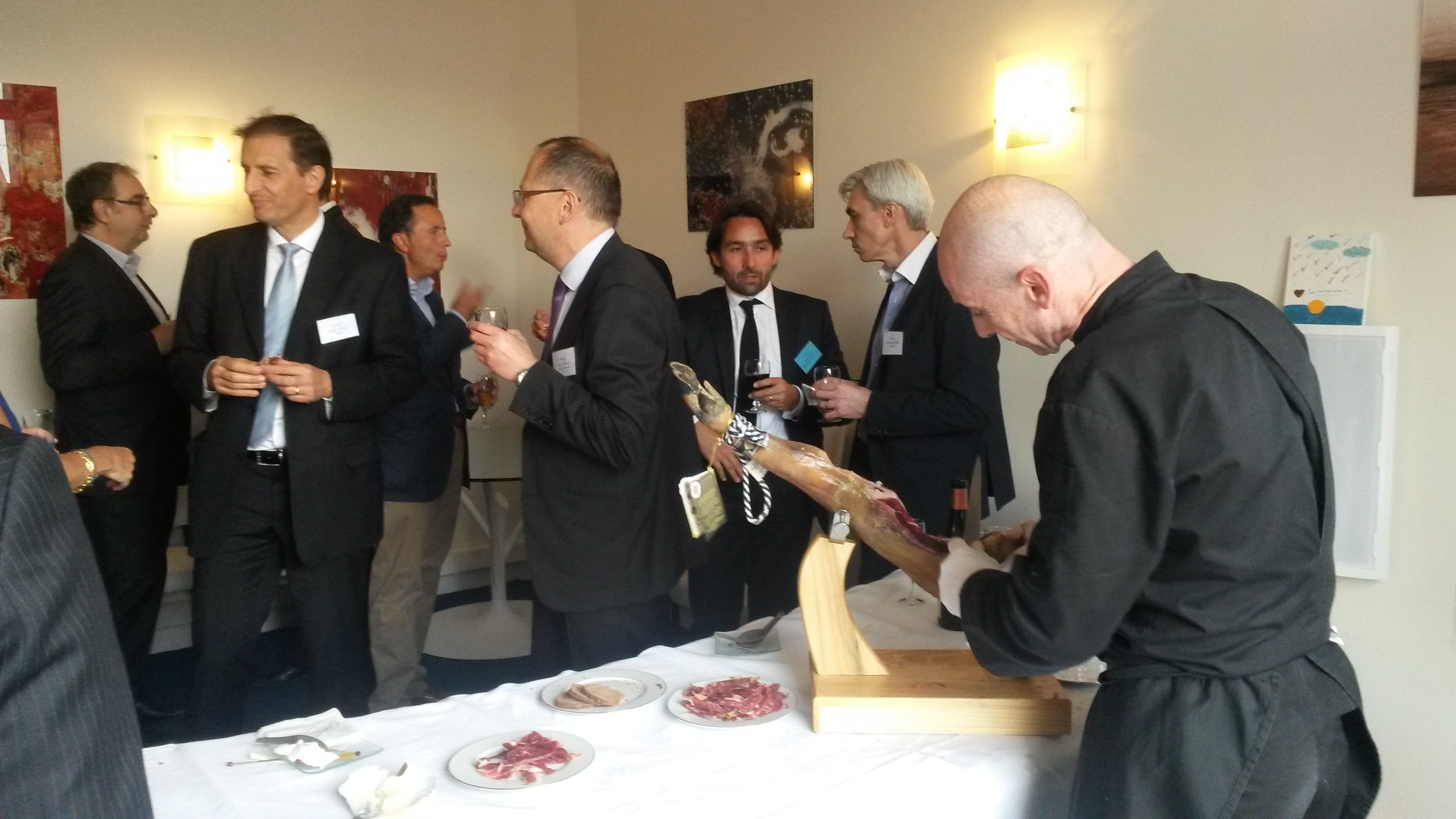 Atelier culinaire de Pata Negra chez ARROWMAN Executive Search