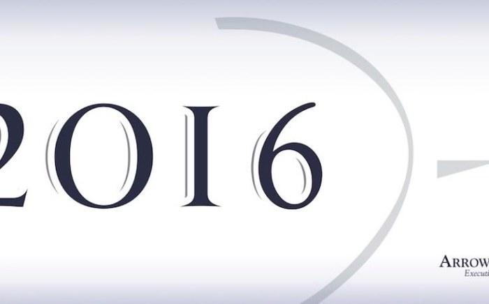 - ARROWMAN Executive Search vous souhaite une très belle année 2016 !