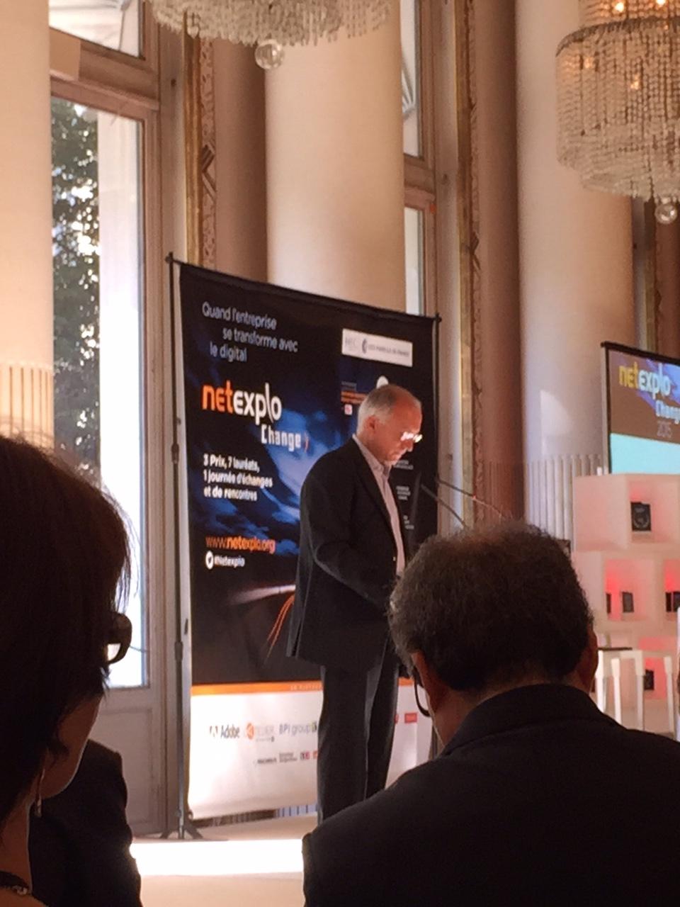 Thierry Happe à la conférence NETEXPLO 2015