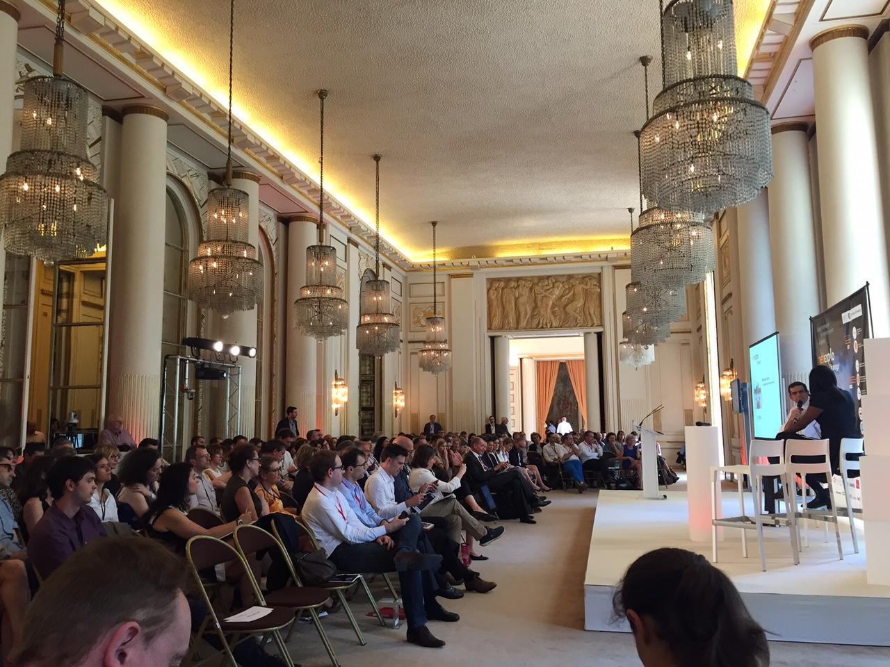Conférence NETEXPLO à la Chambre de commerce de Paris