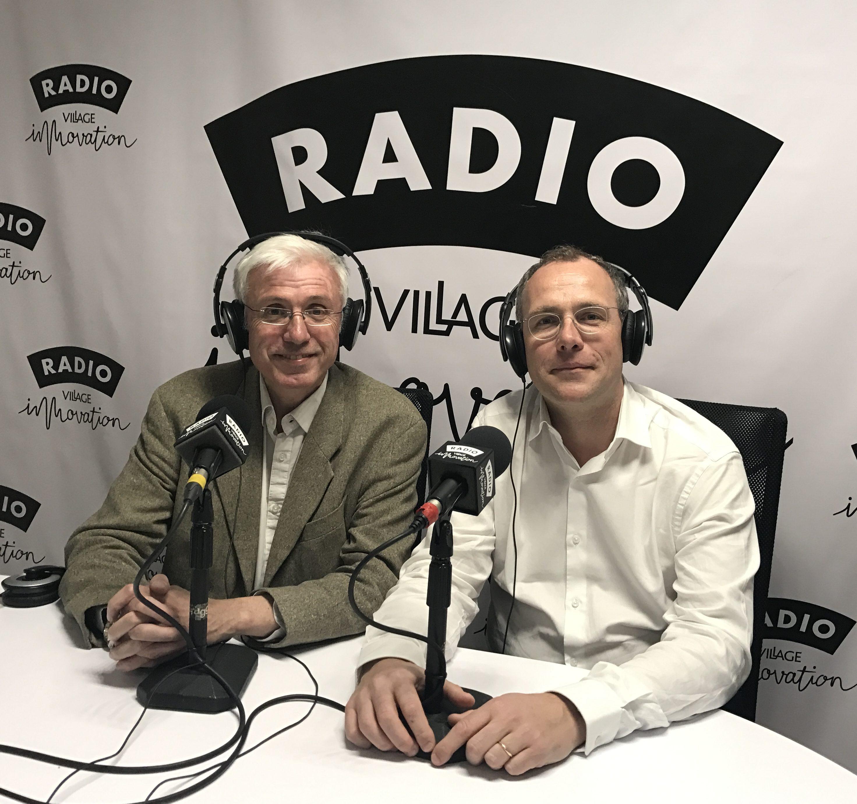 Didier Tranchier Radio Village Innovation