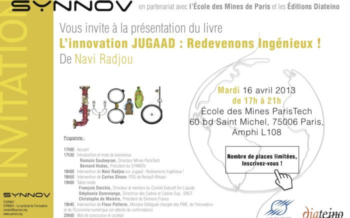- Le Synnov - Syndicat de l'Innovation technologique vous convie à son prochain Rendez-vous de l'innovation...