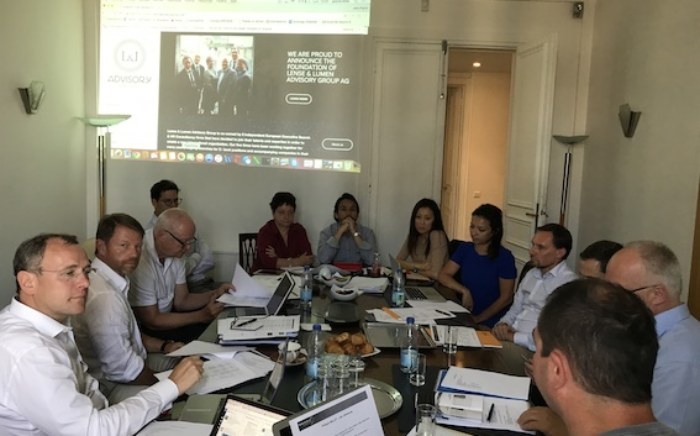 Lense and Lumen A G - Lense and Lumen Advisory Group Website opening and First board meeting in Paris !
