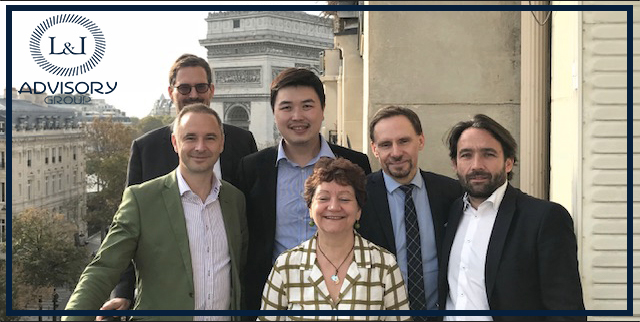 French and Chinese consultants - First L&L French / Chinese business meeting held in Paris !