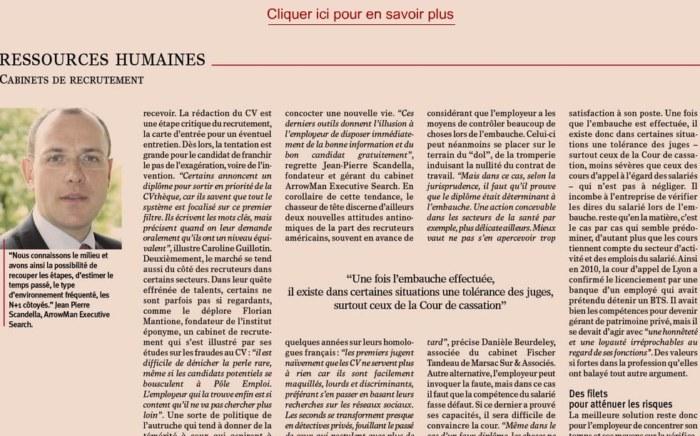 fraude et vérification des cv - L'authentification et la vérification des CV | Le nouvel Economiste par Julien Tarby