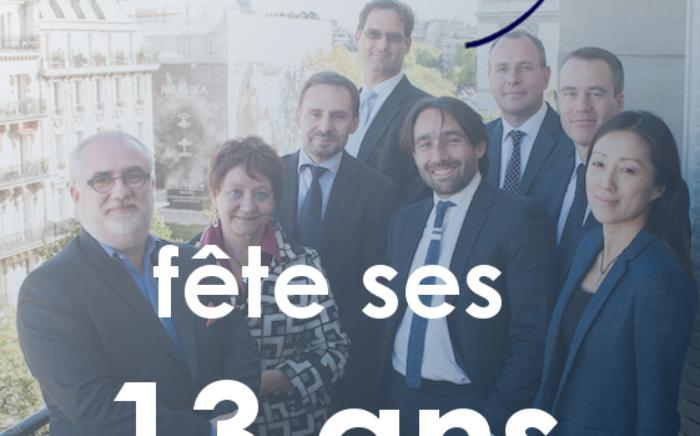 13 ans du cabinet - ARROWMAN Executive Search fête ses 13 ans : remerciements à tous et objectifs 2018-2019 !