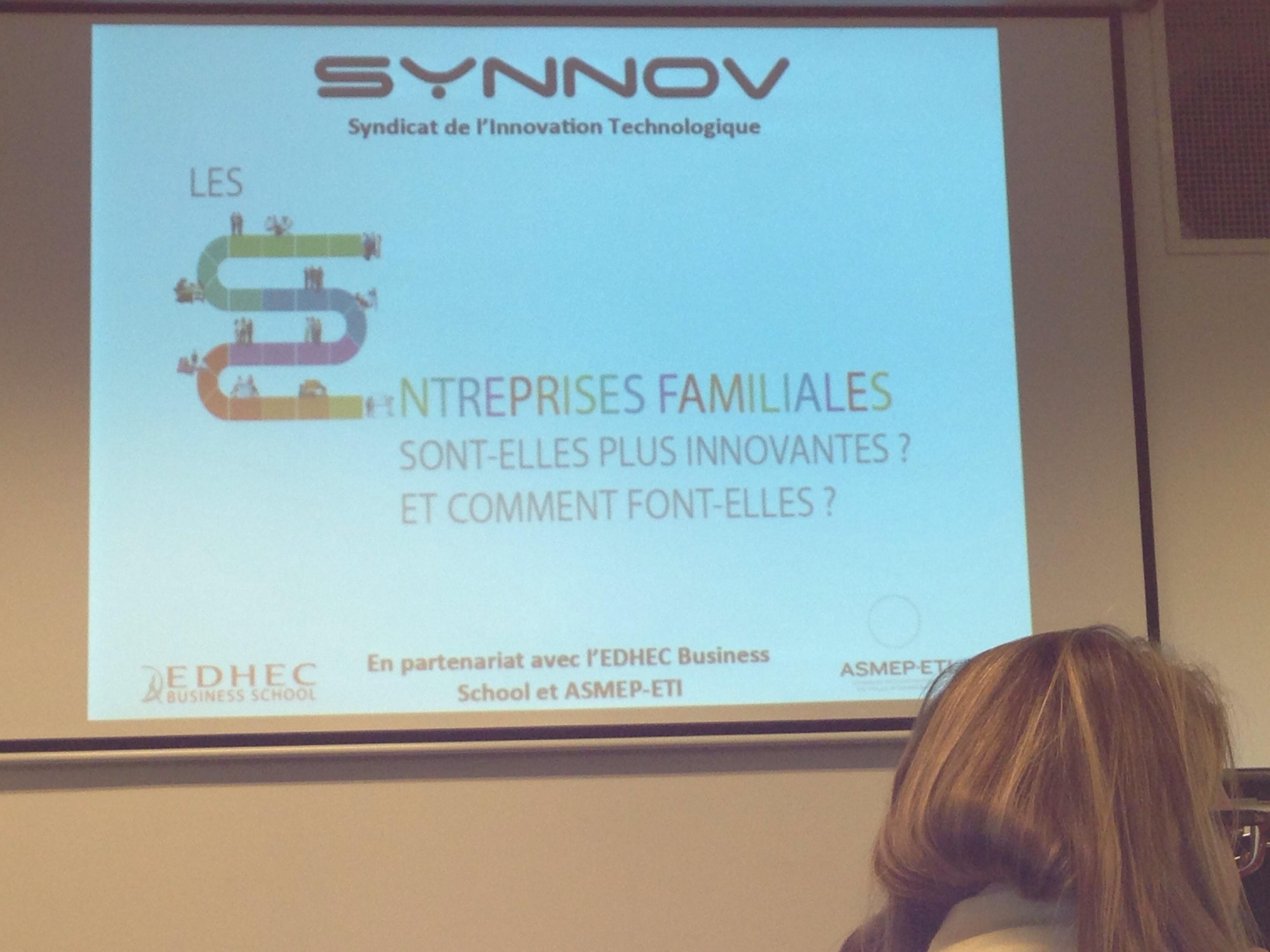 Conférence du Synnov