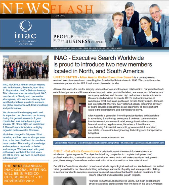 - INAC - NewsFlash June 2012