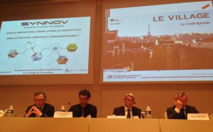 - Lancement du Village by Crédit Agricole lors du 12ème Rendez-vous de l'innovation du SYNNOV